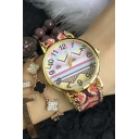 New Aztec Geometric Pattern Boho National Style Knitted Band Watch