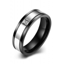 New Style Stainless Steel Concise Design Ring