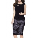 Women's Elegant Chic Bodycon Formal Dress