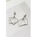 Stylish Geometric Design Women's Earrings