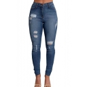 Women's Autumn Sexy Slim Jeans Skinny Denim Pants