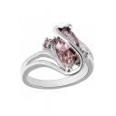 Fashion Irregular Sapphire Ring