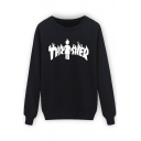 Fashion Character Design Long Sleeve Casual Sweatshirt