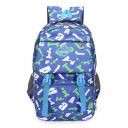 New Arrival Letter Print Polyester Travel Backpack