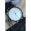 New Stylish Silver Alloy Mesh Belt Quartz Watch