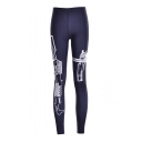 Women's Digital Print Ankle Length Leggings S-XXXXL