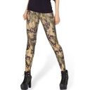 Women's Camouflage Print Ankle Length Skinny Leggings