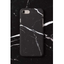 New Fashion Black Marble Printed PC Case for iPhone 7