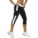 Women's Running Capri Tights YOGA Pants Leggings