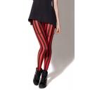 Womens Girls Printed Seamless Colorful Fashion Leggings