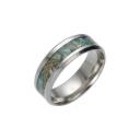 Stylish Titanium Steel Concise Style Ring