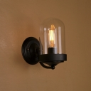 Industrial Minimalism Style Practical Wall Sconce in Black