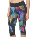 Women's Digital Print Cosmic Galaxy Stretch Leggings Fabric Upgrade