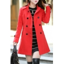 Women's Classic Double-Breasted Coat