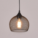 Mesh Style Dome Shape 1 Lt Hanging Light