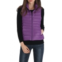 Women's Packable Outdoor Ultra Light Down Puffer Vest
