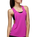 Women's Sexy Open Side Sleeveless Loose Sport Tank Top