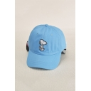 Lovely Fashion Embroidery Snoopy Dog Patter Baseball Cap