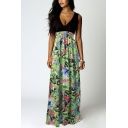 Women's Maxi Boho Summer Long Skirt Evening Cocktail Party Dress