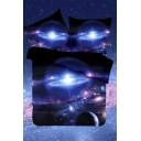 Comfortable Bedding Sets Bed Sheet Set Duvet Cover Set 3D Galaxy Bedding Set Bed Pillow Case