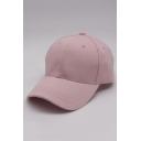 Basic Plain Baseball Cap for Couple