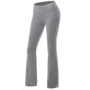 Women's Leisure Plain Yoga Pants