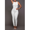 Women's Sexy Clubwear Bodycon Long Jumpsuit Rompers