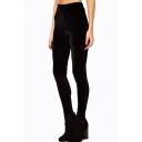 Women's New Arrival High Waist Plain Basic Skinny Leggings