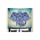 Tribal Elephant Printed Yoga Mat Beach Towel Cushion Shawl