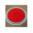 Fashion Watermelon 3D Printed Yoga Mat Beach Towel Cushion Shawl