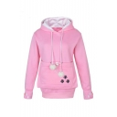New Stylish Drawstring Hooded Long Sleeve Hoodie Sweatshirt with One Hugh Kangaroo Pocket