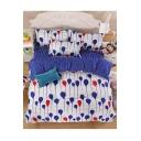 Balloon Color Block Bedding Sets Bed Sheet Set Duvet Cover Set Bed Pillowcase