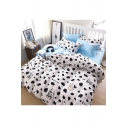 Comfortable Cartoon Printed Bedding Sets Bed Sheet Set Duvet Cover Set Bed Pillowcase