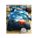 Fashion Galaxy 3D Printed Bedding Sets Bed Sheet Set Duvet Cover Set Bed Pillowcase