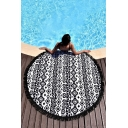 Geometric Printed Color Block Yoga Mat Beach Towel Cushion Shawl