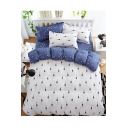 Comfortable Printed Bedding Sets Bed Sheet Set Duvet Cover Set Bed Pillowcase
