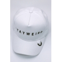 New Fashion Letter Printed Studded Outdoor Adjustable Unisex Baseball Cap