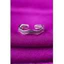 Hot Fashion Vintage Twist Wave Design Adjustable Stylish Ring