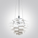 Designer Lighting PH Artichoke  Pendant In White