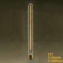 40W  Edison Bulb 26*300mm Retro T26 220V E27