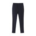 Women's Stretch Resilient Plain Pencil Pants