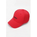 Summer Outdoor Embroidery NONE Letter Pattern Baseball Cap