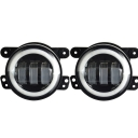 4 Inch 30W LED Fog Light for Jeep Wrangler JK TJ LJ Tractor Boat Cree LED 6500K Pack of 2