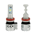 Car Dual Beam LED Headlight Bulbs H11 72W 12000LM 6500K XHP50 CREE LED Pack of 2