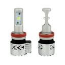 Car Dual Beam LED Headlight Bulbs H11 72W 12000LM 6500K XHP50 CREE LED Pack of 2