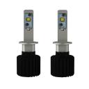 Car Dual Beam LED Headlight Bulbs H1 72W 12000LM 6500K XHP50 CREE LED Pack of 2