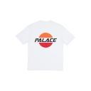 Unisex PALACE Geometric Printed Short Sleeve Round Neck Casual Tee