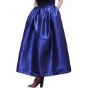New Arrival Plain Oversize A-Line Flare Maxi Skirt