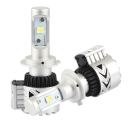 Car Dual Beam LED Headlight Bulbs H7 72W 12000LM 6500K XHP50 CREE LED Pack of 2