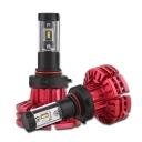 NIGHTEYE X1 Car LED Headlight Bulbs 9005/HB3 60w 10000LM 6500K LUXEON ZES LED Pack of 2